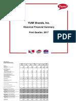Q1 17 Financial Summary