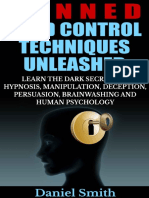 Banned Mind Control Techniques Unleashed Daniel Smith