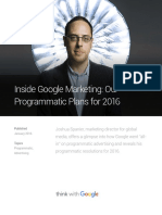 Inside Google Marketing Our Programmatic Plans 2016 Final