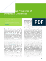3 Definition and Prevalence of Dentofacial Deformities 2014 Orthognathic Surgery