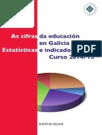 As Cifras Da Educación en Galicia 14-15