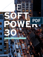 The Soft Power 30 Report 2016
