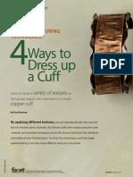 Textured Copper Cuff