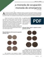 La moneda de ocupación y la moneda de emergencia