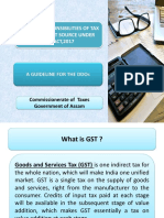 P.P.T on Duties_responsibilities  of DDO for GST