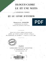Le Prologue-cadre Des Mille Et Une Nuits.