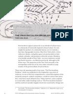 The Provincialism Problem