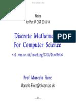 Disc Math Notes