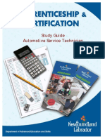 StudyGuide AutomotiveServiceTech GOOD