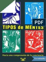 Tipos de mentes - Daniel C Dennett.pdf
