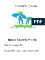 Human Resource Systems