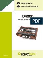 B4000 Manual