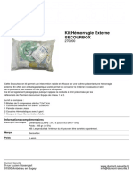 Kit Hémorragie Externe SECOURBOX