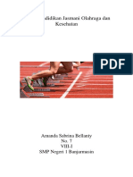 Tugas Pendidikan Jasmani Olahraga Dan Kesehatan