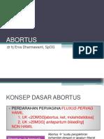 Abortus stikes Banyuwangi