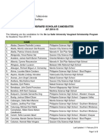 2014 2015 Vaugirard Scholar Candidates (2)