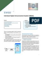 EWSD individual announcement system
