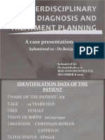Interdisciplinary Diagnosis and Treatment Planning