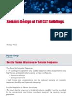 Seismic Design of Tall CLT Buildings - Rodrigo Thiers