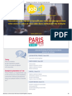 Résultats de Ma Recherche - Paris Pour l'Emploi Des Jeunes