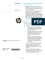 HP Transceiver Replacement Instructions-March2014
