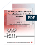 PROY AUT 01.05 Autorizacion Paso a Produccion