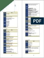 Programme 13 Oct 2011