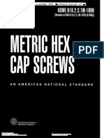 ASME B18.2.3.1M-1999 (Metric HEX Cap Screws)