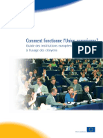 Guide Des Institutions Européens