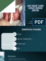 Bayi Berat Lahir Sangat Rendah