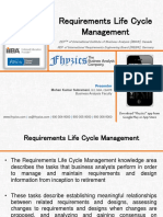 Requirements Life Cycle Management knowledge