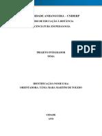 Modelo Projeto Integrador