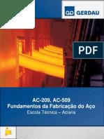 AC-509 - Fundamentos Para Fabricação Do Aço -Guia de Referencia