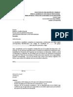 Modelo de Solicitud Para Presentarse Al Examen de Suficiencia Profesionalv v2