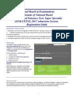 Registration Guide CETSS_NEW17