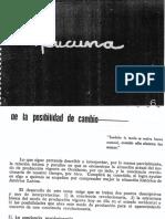 Bolívar Echeverría (1965) De la Posibilidad de cambio (Versión completa)