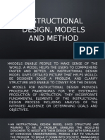 Instructional Design, Models and Method