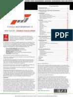 Forza Motorsport 3 Prima Official Guide