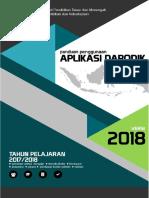 0 Panduan Manual Dapodik Versi 2018