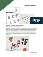 Design & Fashion - August2017