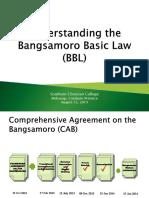 Understanding BBL - Aug 13, SCC
