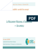 ILecomte Reglement Regional Urbanisme
