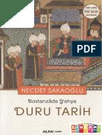 Bostanzâde Yahya. Duru Tarih (2016)