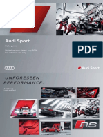 Audi Sport Styleguide