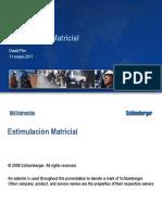 Estimulacion Matricial SPE UTE