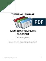 Tutorial Lengkap Membuat Template Blogspot.pdf