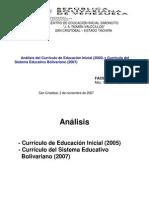 ANÁLISIS DEL CURRICULO DEL EI Y EIB45