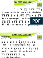 Ungkup 116a - O Jaka Toto Tatap Jela