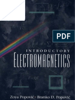 Introductory Electromagnetics - Z. Popovic, B. Popovic
