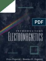 Introductory Electromagnetics - Z. Popovic, B. Popovic